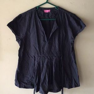 BCBGirls medium blue shirt